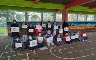 Un projet solidaire avec la classe d'Ulis de l'Ecole Vieira da Silva…
